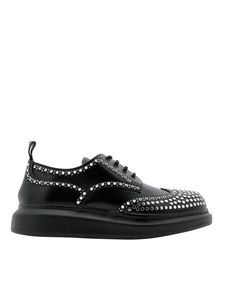 Alexander McQueen - Hybrid black shoes featuring studded