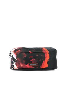 Alexander McQueen - Ink Floral print belt bag