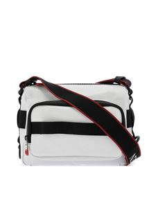 Alexander McQueen - Urban nylon shoulder bag in white