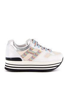 Hogan - Maxi H222 multicolour strass H sneakers