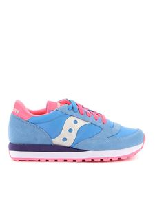 Saucony - Jazz Original trainers in light blue and pink
