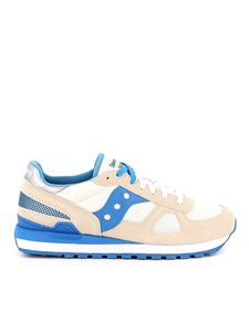Saucony - Shadow Original blue and white trainers