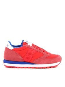 Saucony - Jazz Original trainers in red and blue
