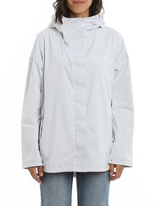 Save the duck - Ultralight nylon windbreaker in white