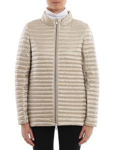 Save the duck - Ultralight nylon down jacket in sand color
