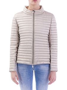 Save the duck - Ultralight quilted down jacket in beige