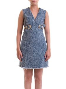 Versace Jeans Couture - Denim flared dress in blue