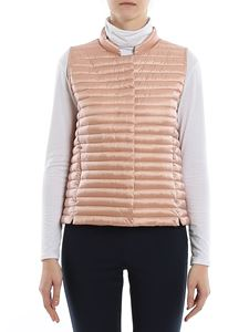 Save the duck - Water repellent padded waistcoat in pink
