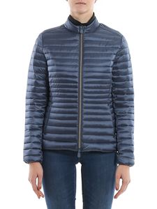 Save the duck - Ultralight nylon jacket in blue