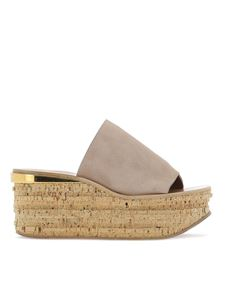 Chloé - Camille suede wedges