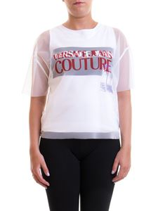 Versace Jeans Couture - Logo printed t-shirt in white