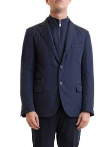 Corneliani - Padded jacket in blue