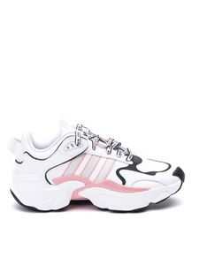 Adidas - Magmur Runner sneakers in white and pink
