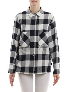 Woolrich - Beaded check flannel shirt