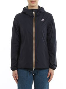 K-way - Marguerite Poly Jersey jacket in blue