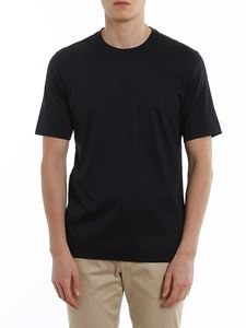 Z Zegna - Jersey t-shirt in blue