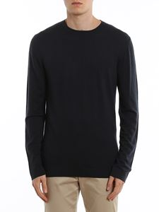 Z Zegna - Crewneck pullover in blue
