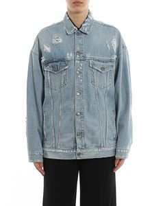 Givenchy - Destroyed denim jacket