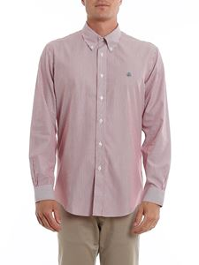 Brooks Brothers - Camicia a righe rosse e bianche