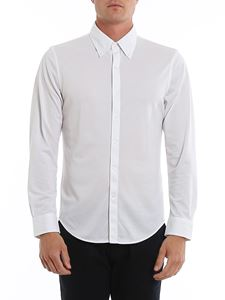 Brooks Brothers - Logo shirt in white