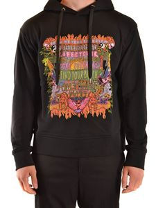 Neil Barrett - Art Collage print sweatshirt in black