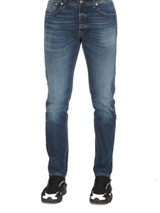Department 5 - Faded stretch jeans in blue