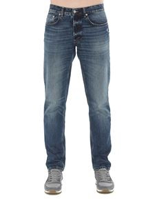 Department 5 - Keith faded denim jeans in blue