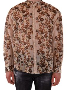 Dsquared2 - Multicolor floral pattern shirt