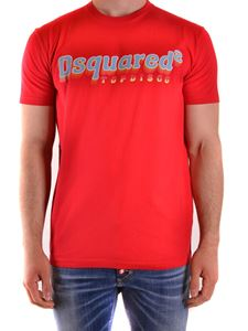 Dsquared2 - Logo print T-shirt in red