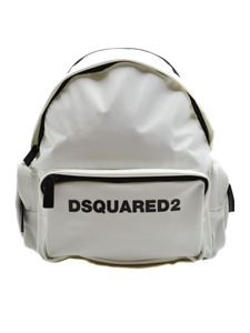 Dsquared2 - Nylon backpack with white printed logo