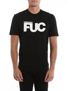 Dsquared2 - Fuc print T-shirt in black