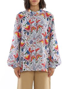 Paul Smith - Camicia floreale in crêpe
