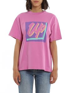 Paul Smith - T-shirt con stampa Up rosa