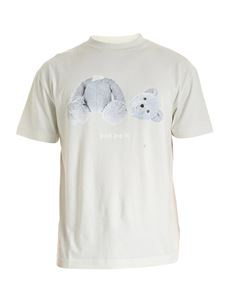 Palm Angels - Ice Bear T-shirt in ice color