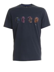 Paul Smith - Skulls print organic cotton T-shirt