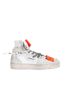 Off-White - Sneakers Off-Court 3.0 bianche effetto vintage