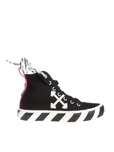 Off-White - Sneakers mid top nere