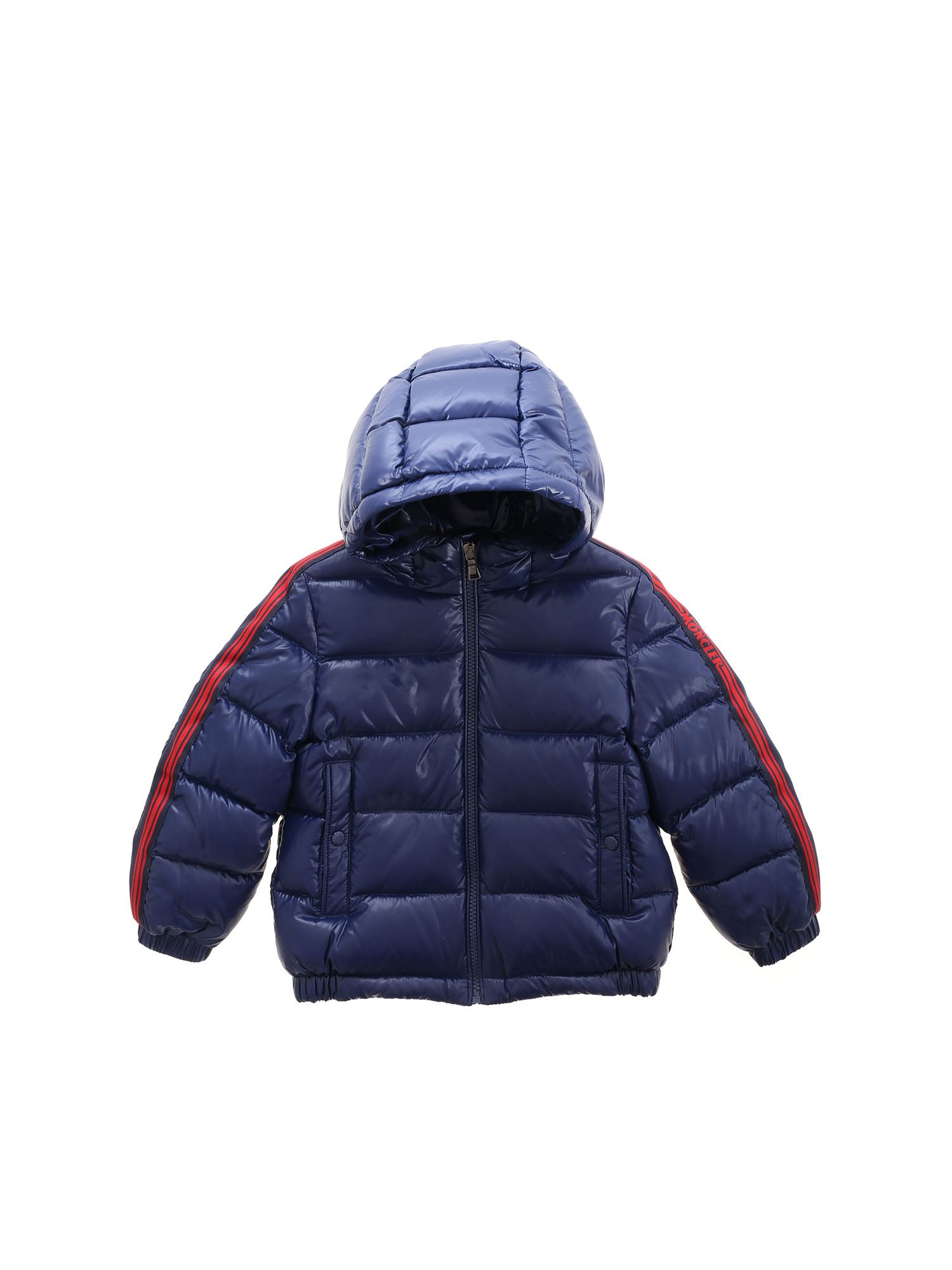 MONCLER JR Downs AL DOWN JACKET IN BLUE