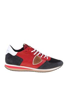 Philippe Model - Trpx sneakers in red and blue