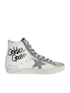 Golden Goose - Francy sneakers in white featuring glitter