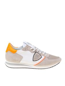 Philippe Model - Trpx sneakers in sand and white