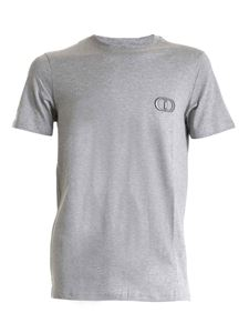 Dior - CD Icon T-shirt in melange grey