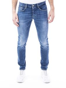 Dondup - Stretch denim jeans in light blue