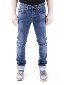 Dondup - George faded denim jeans in blue