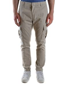 Dondup - Cotton cargo pants in grey