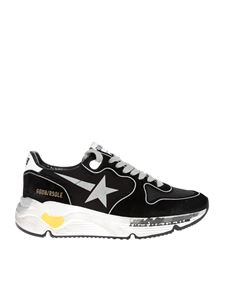 Golden Goose - Running Sole sneakers in black and silver
