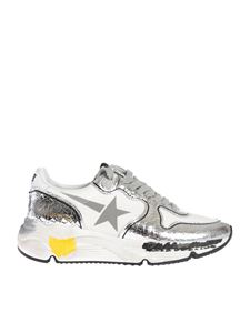 Golden Goose - Running Sole sneakers in white and silver