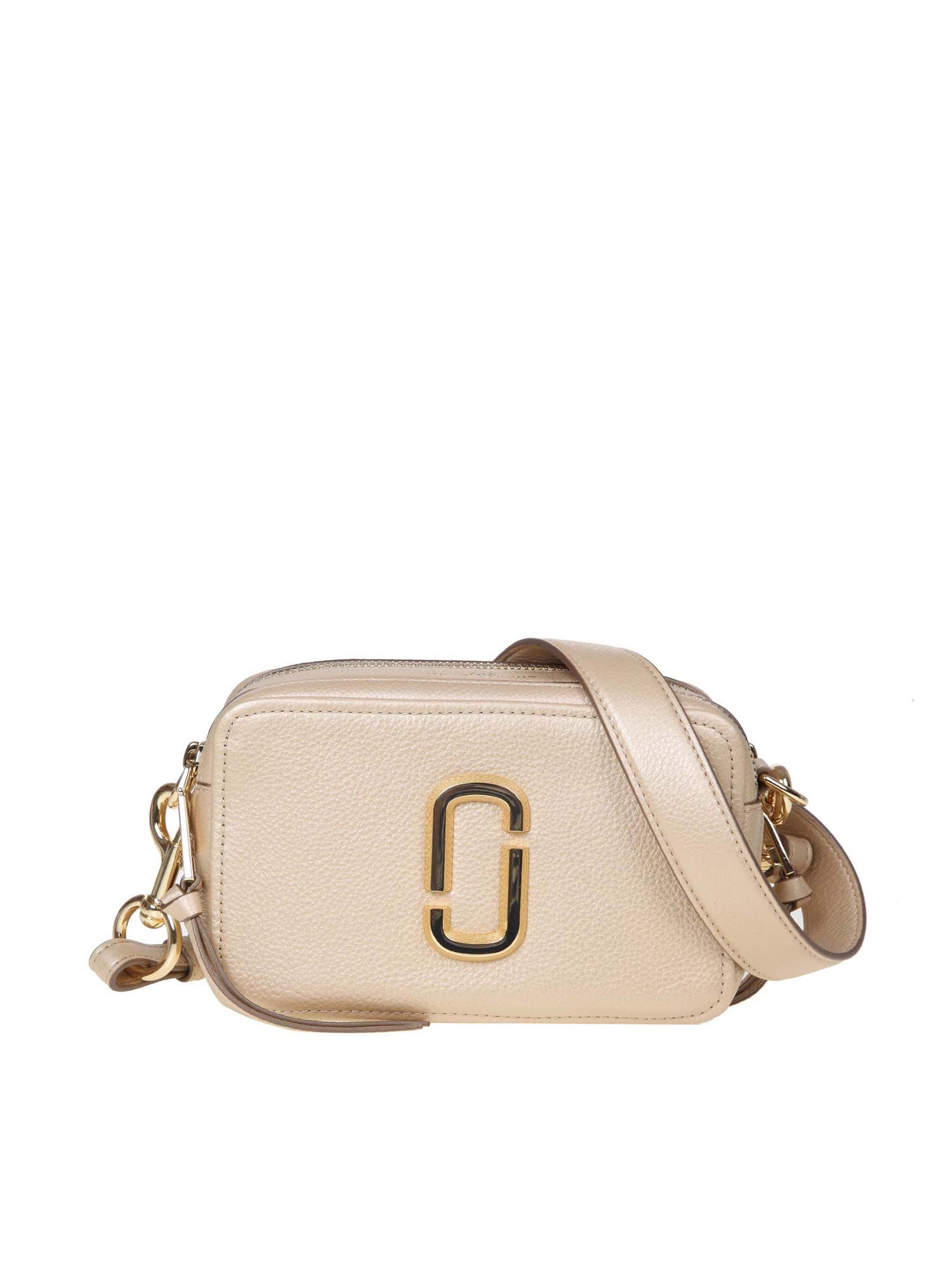 Marc Jacobs THE SOFTSHOT PEARLIZED BAG IN GOLD COLOR