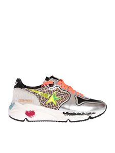 Golden Goose - Running Sole sneakers featuring animal print