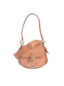 Chloé - Tess Small bag in Muted Brown